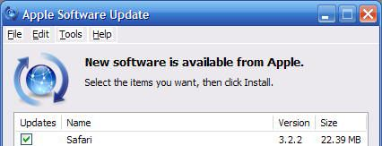 Updating iTunes