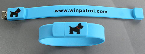 Click to order your WinPatrol Flash wristband