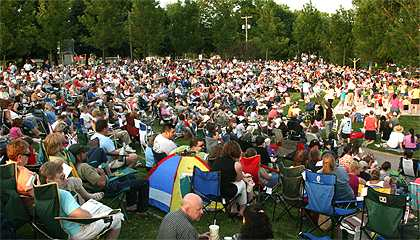 Freedom Park crowd