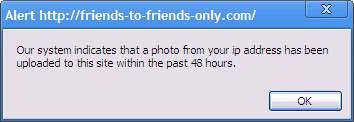 Bogus error message