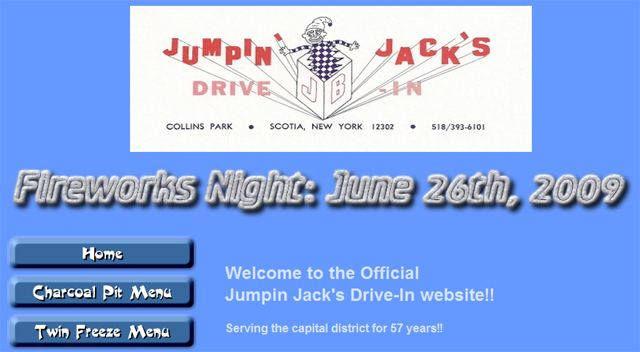 Jumpin' Jack's New Web Site