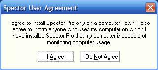 Spector Warning