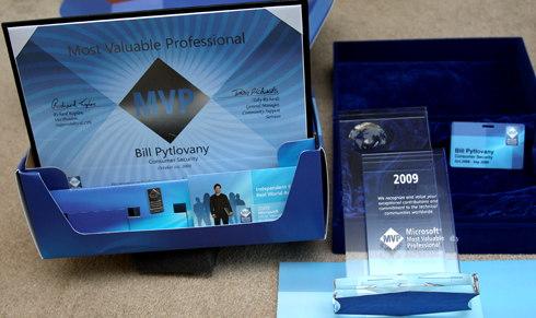 Microsoft Most Valuable Professional 2009 kit