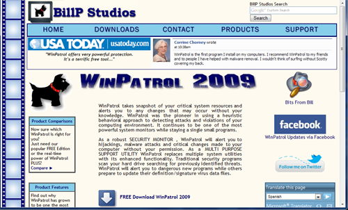 New web design for WinPatrol.com