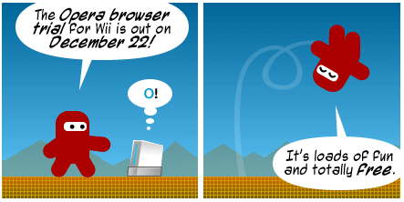 Opera Wii Comic Strip