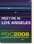 Meet me at PDC