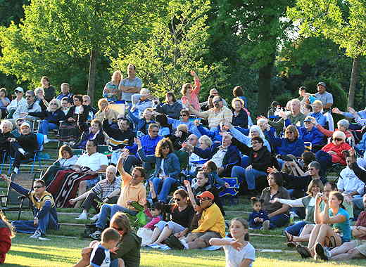 Opening Night Crowd at Freedom Park