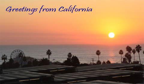 View from Santa Monica Doubletre Guest Suites