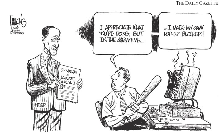 Spitzer Cartoon