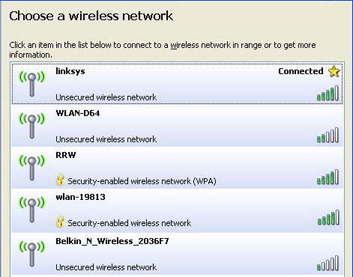 Beware of free Wireless Networks
